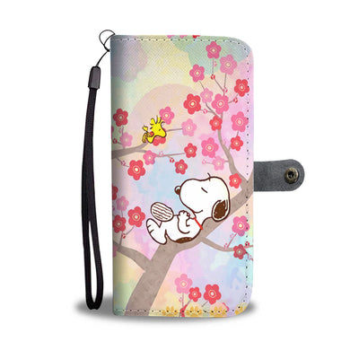 Snoopy Blossom Wallet Case