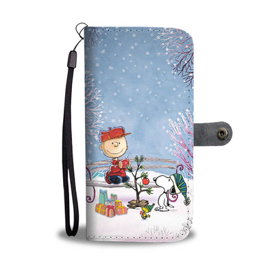 Dog Christmas Wallet Case