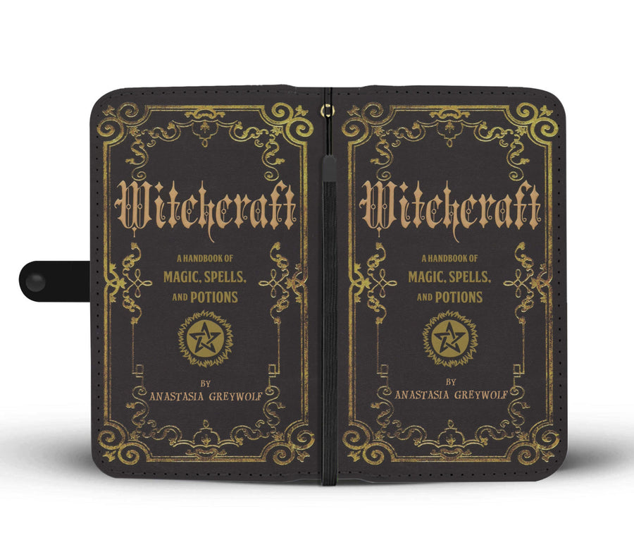 Personalized Witch Wallet Case