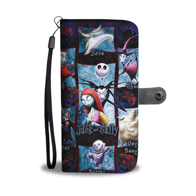 The Nightmare Before Christmas Wallet Case