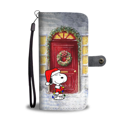 Snoopy Christmas Wallet Case