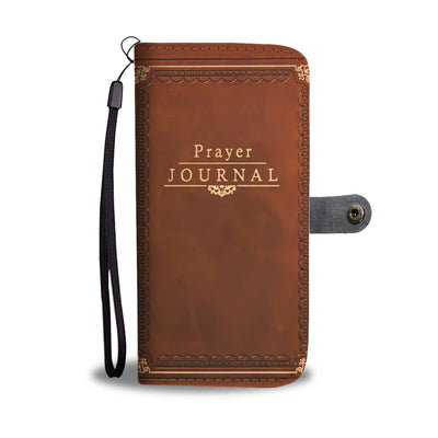 Prayer Journal Wallet Case