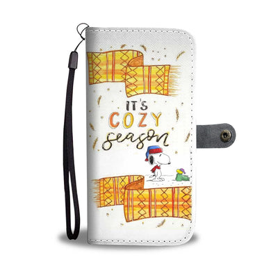 Cozy Season Wallet Case