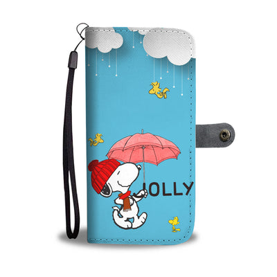 Snoopy Jolly Wallet Case