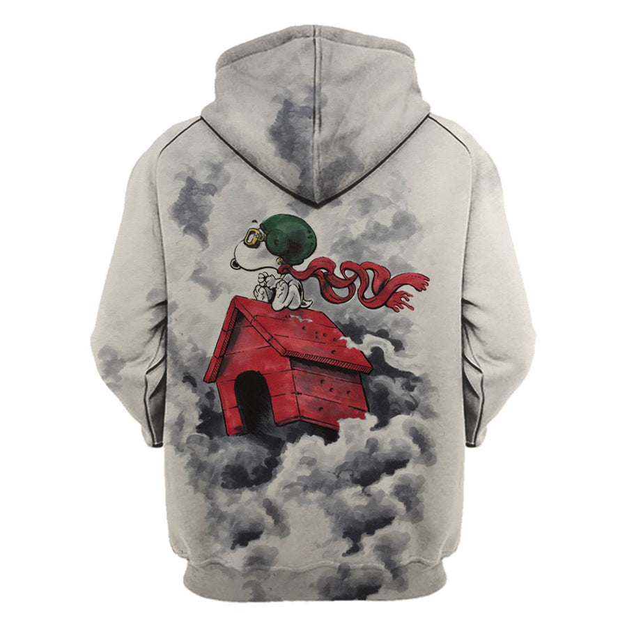 Snoopy Flying Ace 3D Hoodie