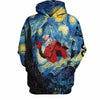 Snoopy Starry Night 3D Hoodie