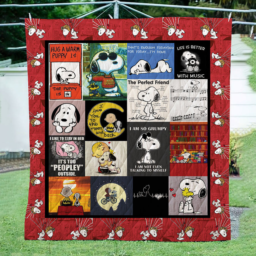 Snoopy 3D Quilt