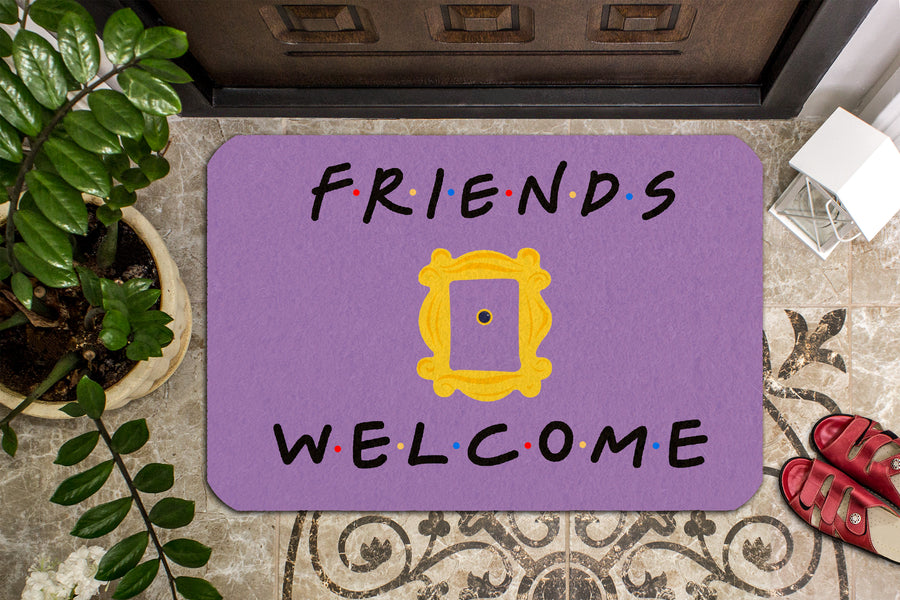 Friends Welcome Doormat