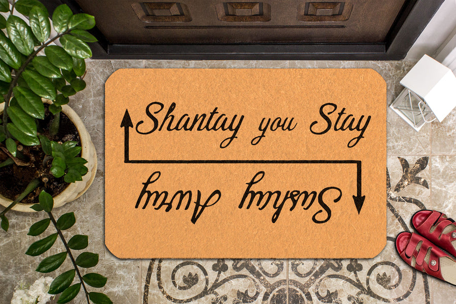 Shantay You Stay, Sashay Away Doormat