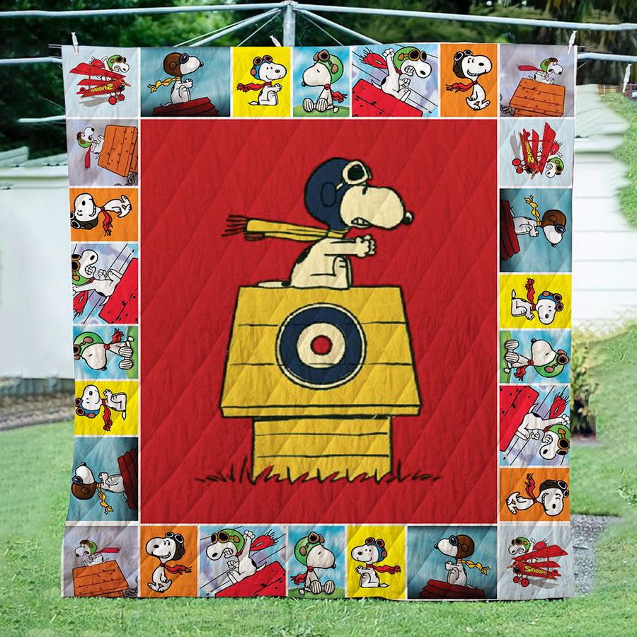 Snoopy Flying 3D Quilt