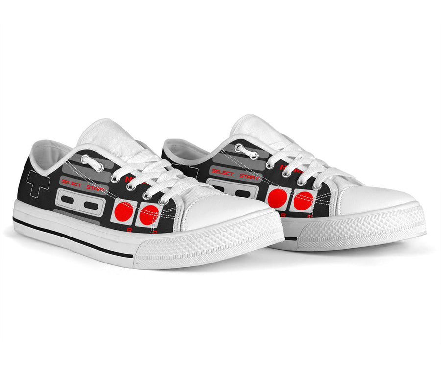 NES Controller Low Top Shoe