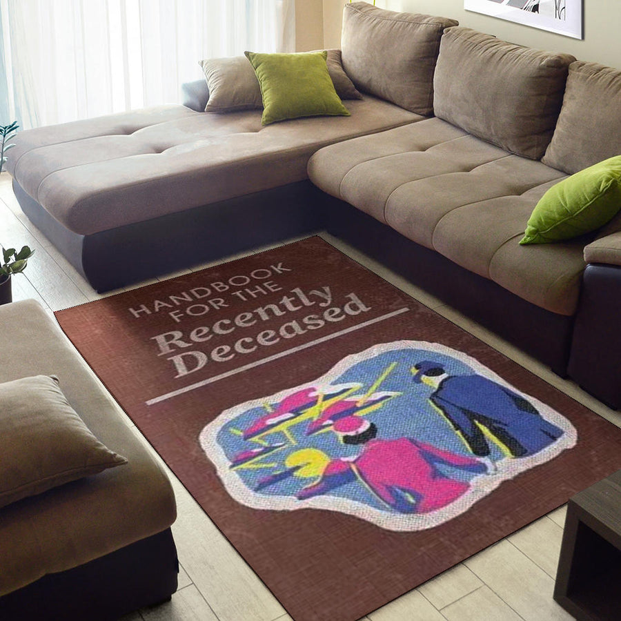 Handbook For The Recently Deceased Rug
