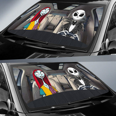 Jack & Sally Auto Sun Shade