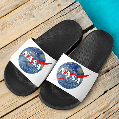 NASA Van Gogh Slide Sandals