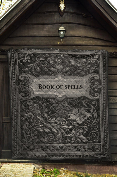Book Of Spells Premium Quilt