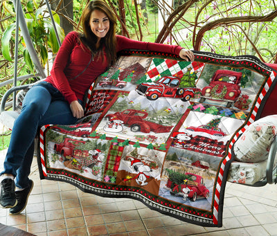 Dog Christmas Quilt