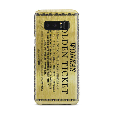 Golden Ticket Case