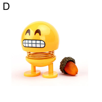 Shaking Head Emoji Toys Car