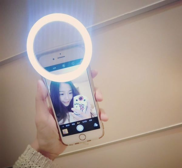 Mrs Win Mobile Phone Lens Selfie LED Flash Light