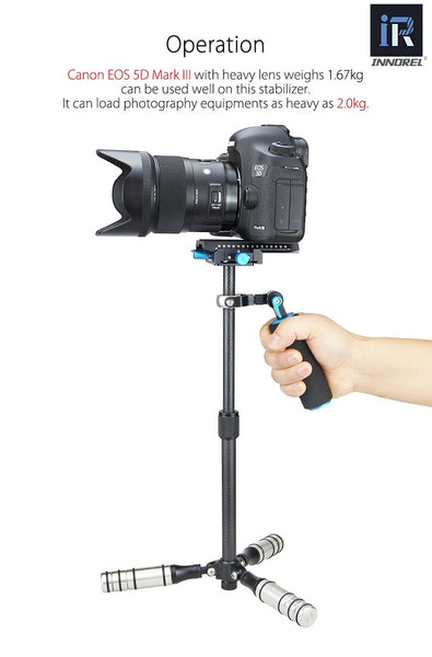 INNOREL SP Mini Handheld Stabilizer Carbon Fiber Steadicam