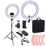 Lacyfans 180PCS LED Ring Light