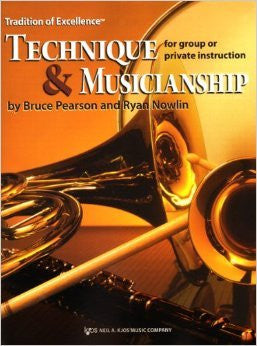 TECHNIQUE AND MUSICIANSHIP BARITONE BC