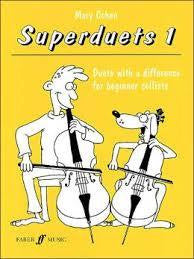 SUPERDUETS 1 (2 CELLOS) NEW EDITION