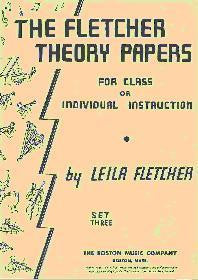 FLETCHER THEORY PAPERS BOOK 3