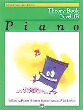 ALFRED'S BASIC PIANO COURSE THEORY BOOK 1B