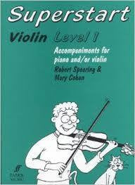 SUPERSTART VIOLIN LEVEL 1 ACCOMPANIMENT