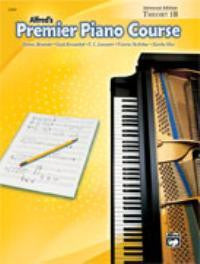 ALFREDS PREMIER PIANO COURSE THEORY LEVEL 1B