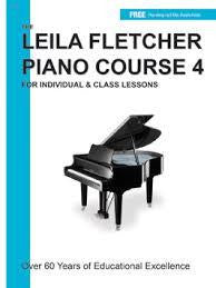 FLETCHER PIANO COURSE BOOK 4