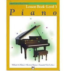 ALFREDS BASIC PIANO LESSON LEVEL 3