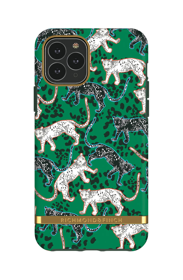 Funda para iPhone - Green Leopard