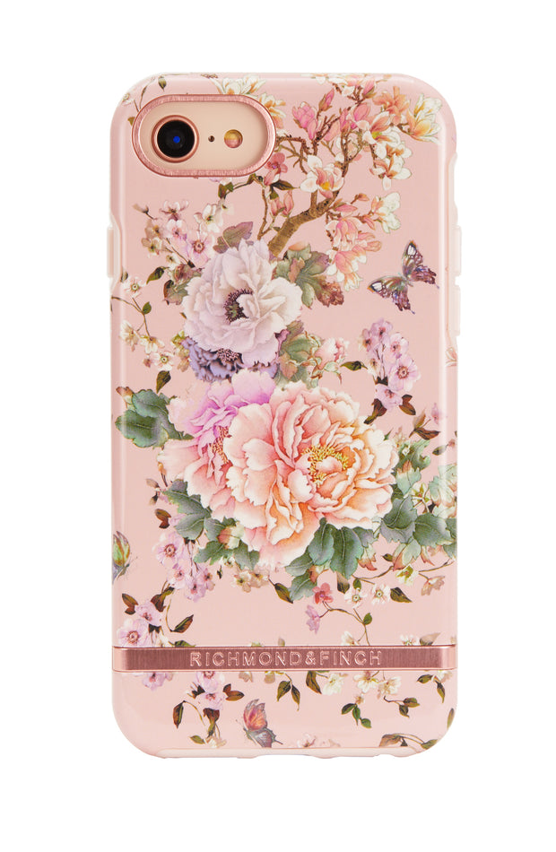 Funda para iPhone - Peonies and Butterflies