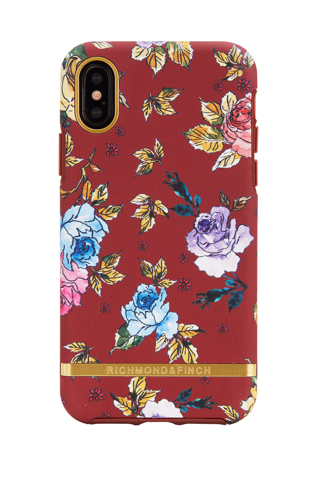 Funda para iPhone - Red Floral
