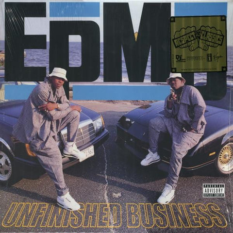 EPMD ‎– Unfinished Business - 2 × Vinyl, LP, Album, Reissue