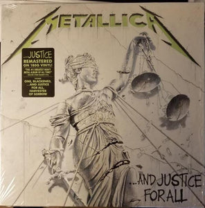 Metallica ‎– ...And Justice For All - Blackened Recordings ‎– BLCKND007R-1 Format: 2 × Vinyl, LP, Album, Reissue, Remastered, 180G - Flashlight Vinyl - Turntable Music