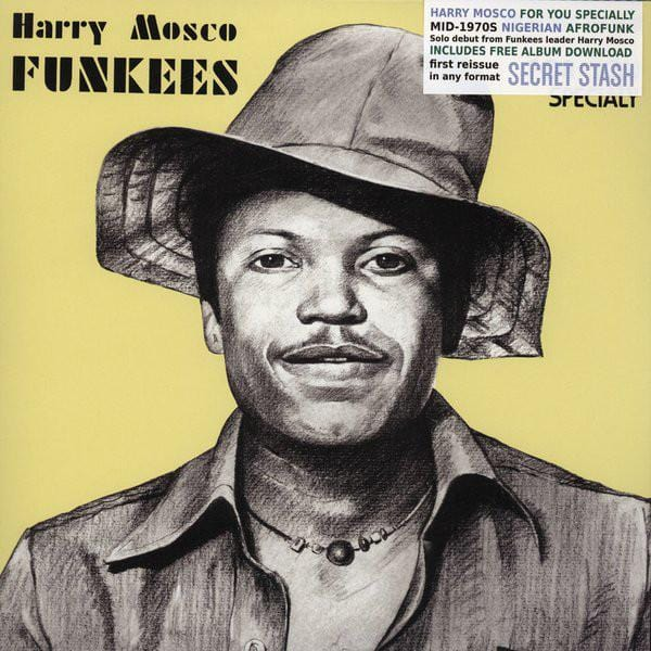 Harry Mosco ‎– Funkees (For You Specialy) - Secret Stash Records ‎– SSR-LP-32