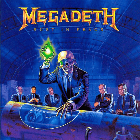 Megadeth ‎– Rust In Peace - Label: Capitol Records ‎– 068 79 1935 1 Format: Vinyl, LP, Album, Reissue - Flashlight Vinyl - Turntable Music