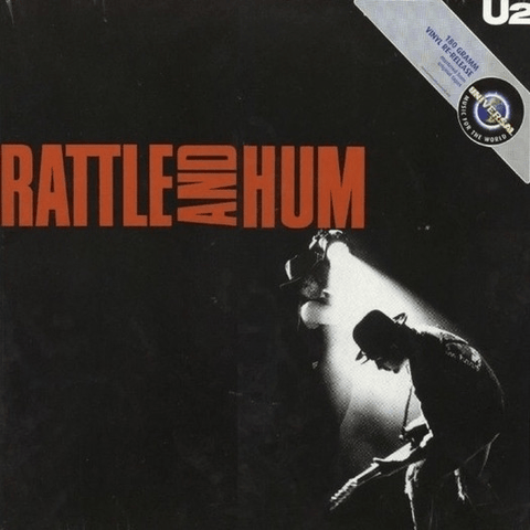 U2 ‎– Rattle And Hum - 180 Gram - Import - Flashlight Vinyl - Turntable Music