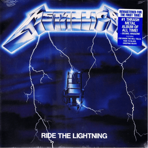 Metallica ‎– Ride The Lightning - Vinyl, LP, Album, Reissue, Remastered - Flashlight Vinyl - Turntable Music