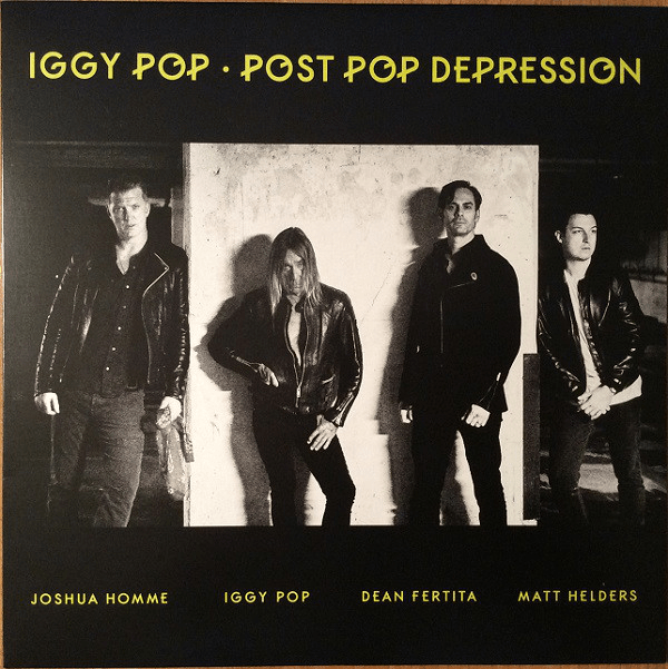 Iggy Pop ‎– Post Pop Depression - Flashlight Vinyl - Turntable Music