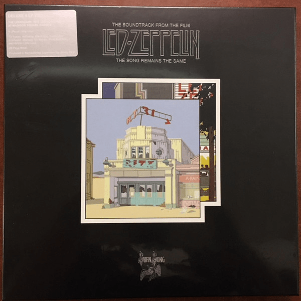 Led Zeppelin ‎– The Soundtrack From The Film The Song Remains The Same Boxset - Flashlight Vinyl - Turntable Music