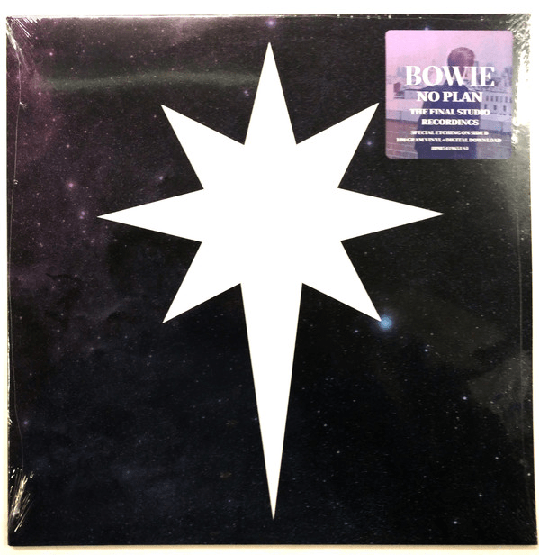 "David Bowie ‎– No Plan EP - Vinyl, 12"", 33 ⅓ RPM, Single Sided, EP, Etched, Stereo, 180 Gram - Flashlight Vinyl - Turntable Music"