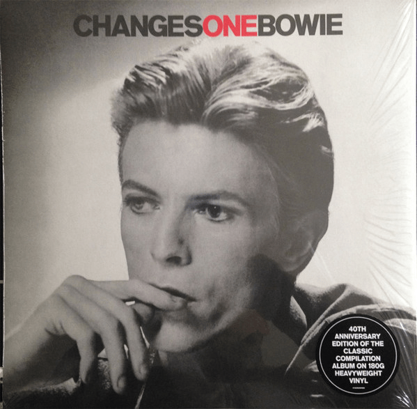 David Bowie ‎– ChangesOneBowie - Vinyl, LP, Compilation, Reissue, 180g - Flashlight Vinyl - Turntable Music