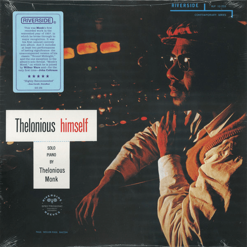 Thelonious Monk ‎– Thelonious Himself - Flashlight Vinyl - Turntable Music