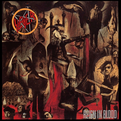 Slayer ‎– Reign In Blood - Vinyl, LP, Album, Reissue, Remastered, 180 Gram - Flashlight Vinyl - Turntable Music