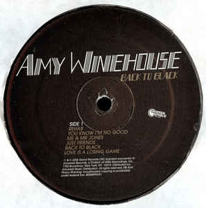 Back to Black by Amy Winehouse LP Vinyl - Flashlight Vinyl - Turntable Music