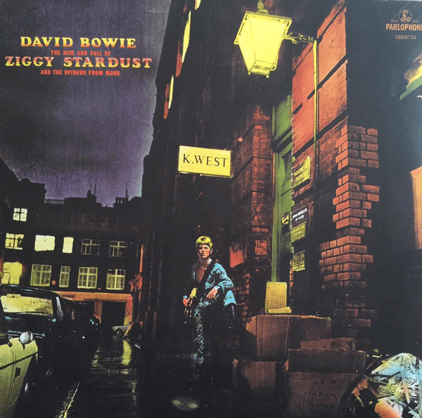 David Bowie - RISE & FALL OF ZIGGY STARDUST & SPIDERS FROM MARS - Vinyl, LP, Album, Reissue, Remastered, Repress, 180 Gram - Flashlight Vinyl - Turntable Music